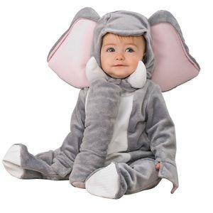 Elephant Infant Baby Plush Halloween Costume 12-18